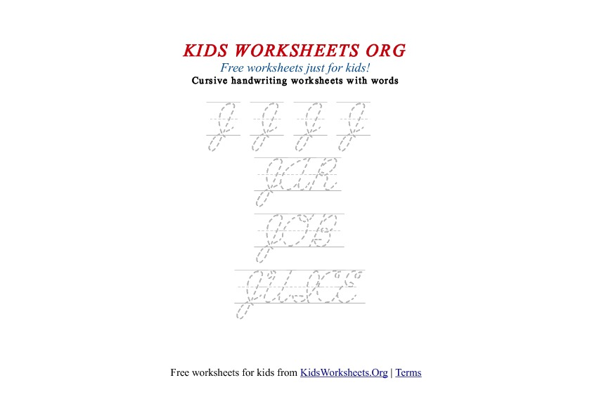 Kids Worksheets Free Printables with Fun Activities. Print Out ...