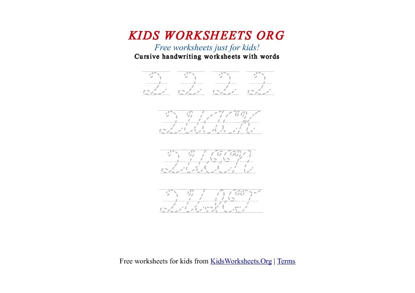 Kids Worksheets Free Printables With Fun Activities Print Out
