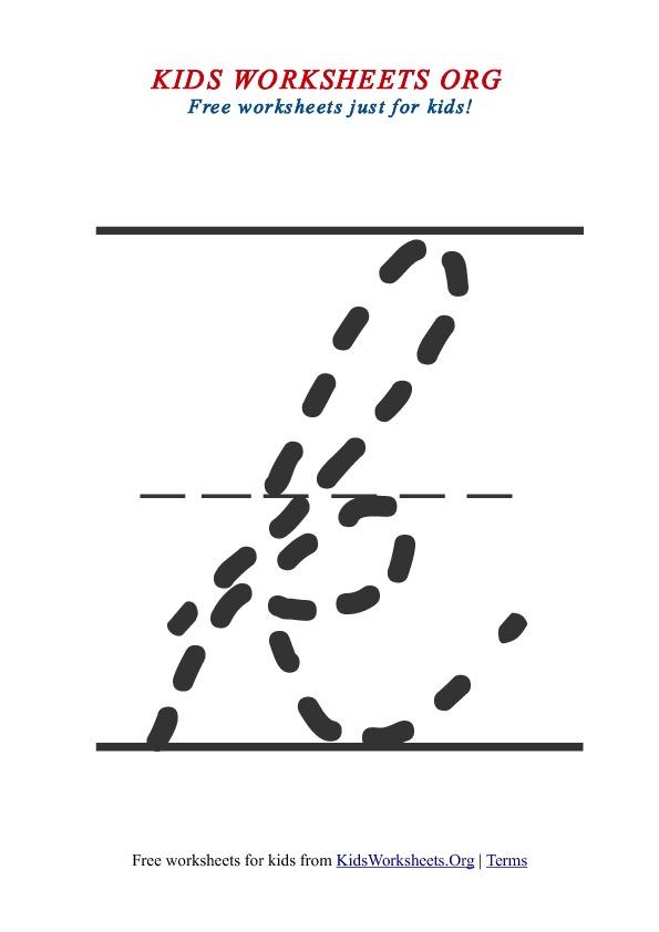 Cursive Letter K. Download Printable Cursive Letter Alphabets ...