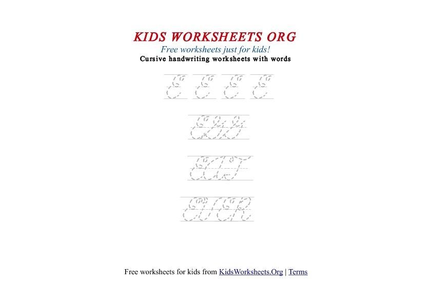 kids letter e in cursive handwriting worksheet kids worksheets org. Black Bedroom Furniture Sets. Home Design Ideas